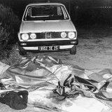 MOSTRO DI FIRENZE LUOGO DEL RITROVAMENTO DEI CORPI DI JEAN MICHEL KRAVECHVILI E NADINE GISELE JANINE MAURIOT 8 SETTEMBRE 1985 (Marconi / GIACOMINOFOTO, FIRENZE - 1985-09-07) p.s. la foto e' utilizzabile nel rispetto del contesto in cui e' stata scattata, e senza intento diffamatorio del decoro delle persone rappresentate